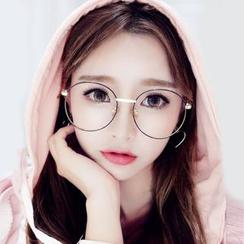 MOL Girl - Oversized Round Glasses