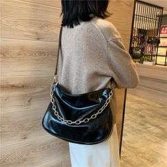 Cat Palace - Faux Leather Crossbody Bag
