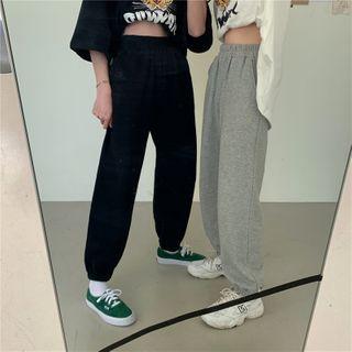 monroll - 纯色运动裤