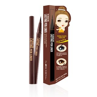 The ORCHID Skin - Lasting Pen Liner #02 Dark Choco Brown
