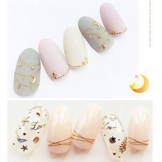 Gliton - Nail Art Decoration (various designs)