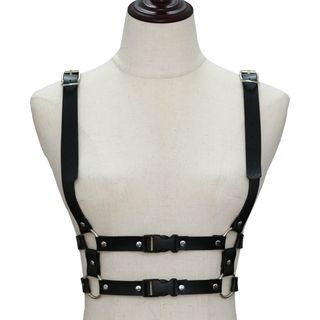 Sohma - Faux Leather Body Harness Belt