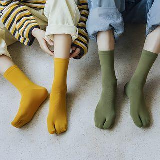 MOGLA - Plain Tabi Socks