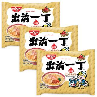 Nissin - Demae Iccho Spicy Series Spicy XO Sauce Seafood Flavour (3 packs)