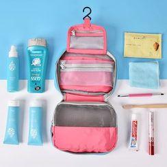 Lezi Bags - Travel Color Panel Toiletry Bag
