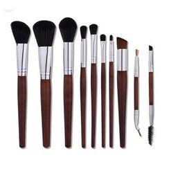 Stroke of Beauty - 10-Piece Makeup Brush Set