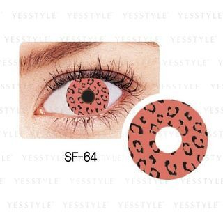 GEO - Special 1-Year Lens SF-64 Leopard [P-0.00 ONLY]