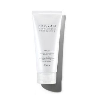 A'PIEU - Bboyan Whitening Body Cream SPF15 PA+ 130ml