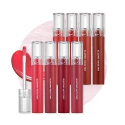 romand - Tinte labial Glasting Water - 8 Colores
