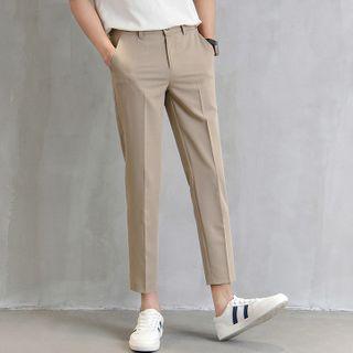 GRAYCIOUS - Cropped Straight Leg Pants