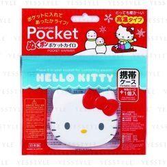 Kokubo - Snowman x Hello Kitty Pocket Warmer & Case