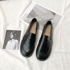 HOGG - Faux Leather Loafers