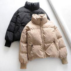 Amoura - 立領夾層夾克