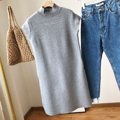 irroro - Mock-Neck Sweater Vest