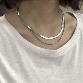 Porstina(ポルスティナ) - Layered Choker Necklace