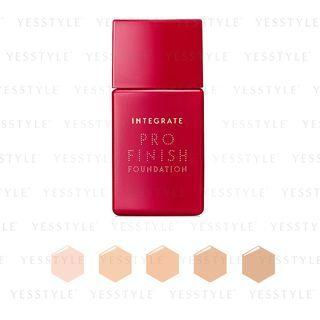 Shiseido - Integrate Pro Finish Foundation SPF 30 PA+++ 30ml - 5 Types