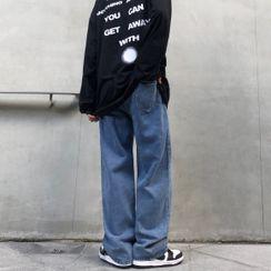 2DAWGS - 水洗直腿牛仔褲