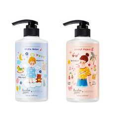 MISSHA - All Over Perfume Body Wash Annelies Draws Edition - 2 Types