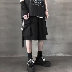 Acrius - Drawstring Cargo Shorts