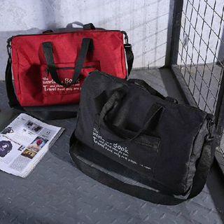 Evorest Bags - Lettering Lightweight Foldable Duffle Bag