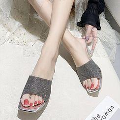 RE: 5 - 网纱高跟凉鞋
