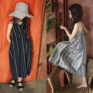 Cuckoo - Family Matching Striped Maxi Sundress
