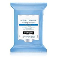 Neutrogena - Fragrance Free Makeup Remover Cleansing Towelettes (21 Ct)