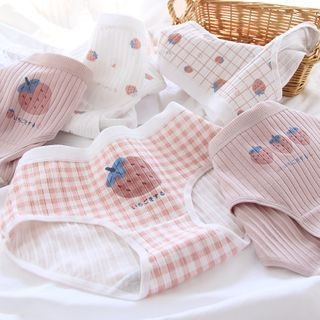 Taylinn - Strawberry Print Panties