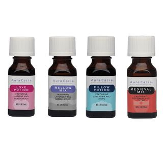 Aura Cacia - Essential Oil Blends, 0.5 oz (4 Types)
