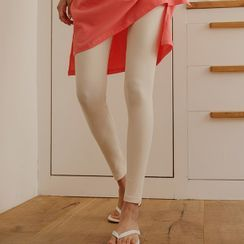 JUSTONE - Basic Textured Leggings