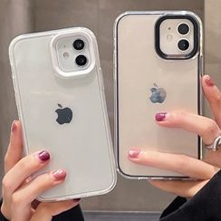 Zone Zero - 透明手机保护套 - iPhone 13 Pro Max / 13 Pro / 13 / 13 mini / 12 Pro Max / 12 Pro / 12 / 12 mini / 11 Pro Max / 11 Pro / 11 / SE / XS Max / XS / XR / X / SE 2 / 8 / 8 Plus / 7 / 7 Plus