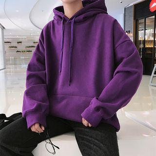 Newise(ニュワイズ) - Couple Matching Plain Hoodie