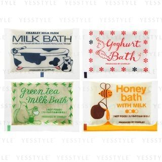 CHARLEY - Milk Bath Salt 18g - 4 Types