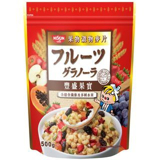 Nissin - Cisco Granola Fruit Flavour 500g