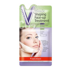 PUREDERM - Miracle Shaping Face-Up Treatment: Gel 5g + CO2 Mask 1pc