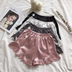 Miss Allurie - Ruffle Trim Under Shorts