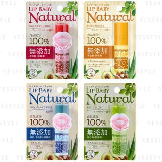 Rohto Mentholatum - Lip Baby Natural Lip Balm - 4 Types