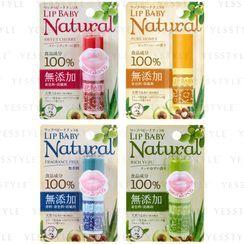 Rohto Mentholatum - Baume à lèvres Lip Baby Natural – 4 sortes