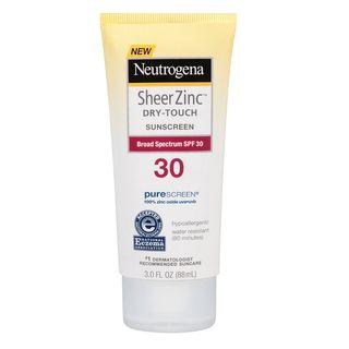 Neutrogena - Sheer Zinc Dry-Touch Sunscreen SPF 30