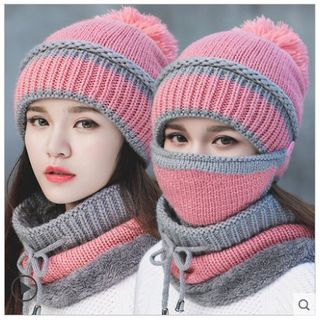 FROME - Set: Beanie + Mask + Neck Warmer