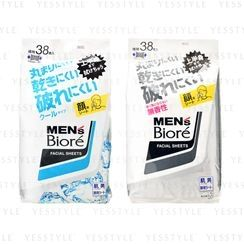 Kao - Men's Biore Facial Sheets 38 pcs - 2 Types