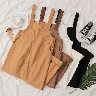 MIMITO - Wide-Leg Cargo Jumper Pants