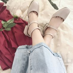 miss baby - Block Heel  Ankle Strap Pumps