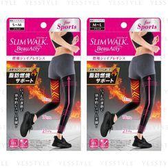 Slim Walk(スリムウォーク) - BeauActy Compression Shape Sports Leggings - 2 Types