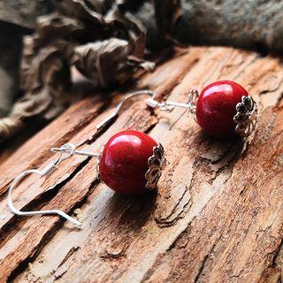 Townlet - 陶瓷飾珠耳墜