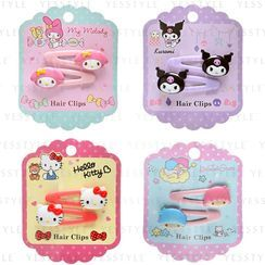 Sanrio - Mascot Hair Clip Set 2 pcs - 4 Types