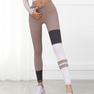 Girasol - Paneled Sports Leggings