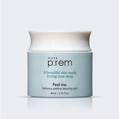 make p:rem - Peel Me. Radiance Peeling Sleeping Pack 80ml