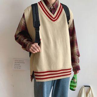 WidoWilder - Contrast Trim Knit Vest