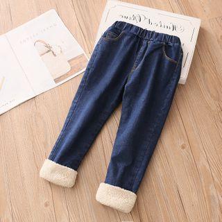 Seashells Kids - Kids Fleece-Lined Jeans